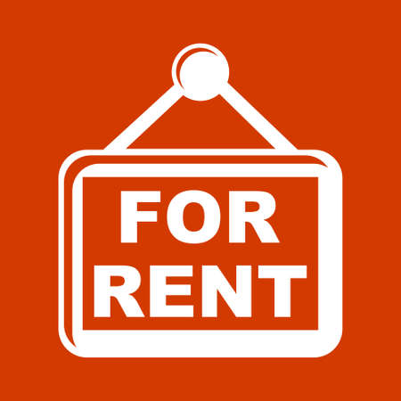 rent: for rent  icons Illustration