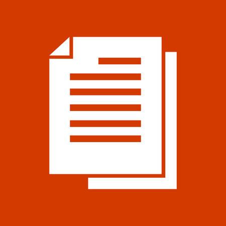 copy file icon Illustration