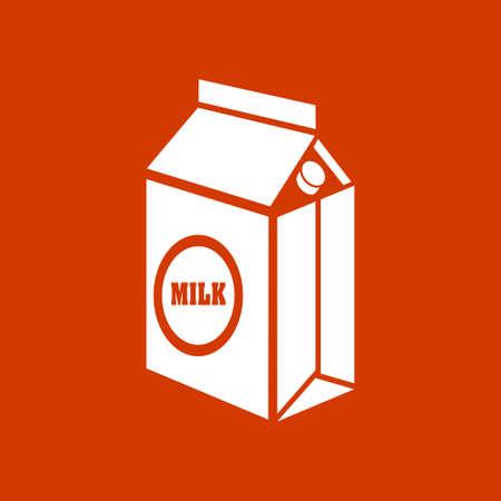 envase de leche: icono de cartón de leche