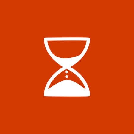 Hourglass icon Vecteurs