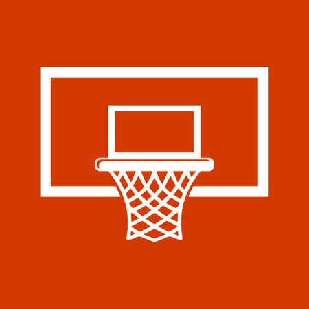 basket icon: basketball basket icon