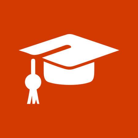 academic achievement: graduation cap icon