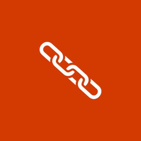 link icon: Link icon chain symbol Illustration