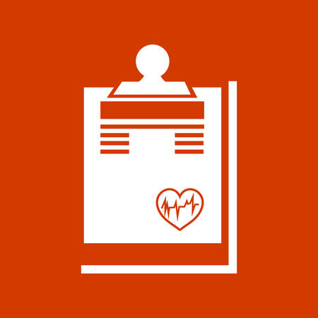 medical report: medical report   icon Illustration