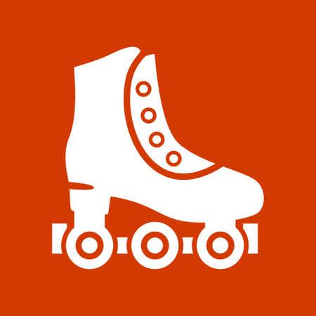 rol schaatsen Vector Illustratie
