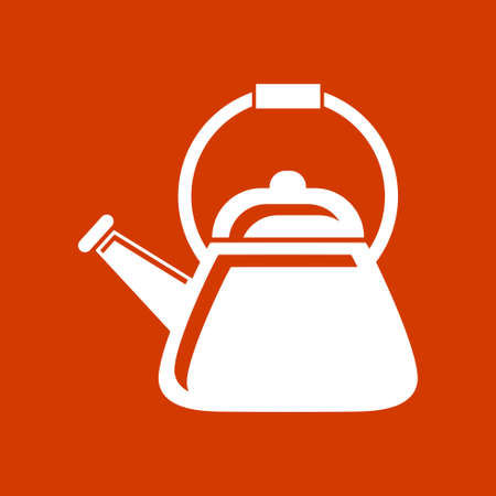 boiler: tea boiler icon Illustration