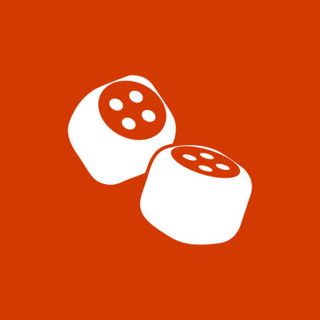 dices: Dices icon Illustration