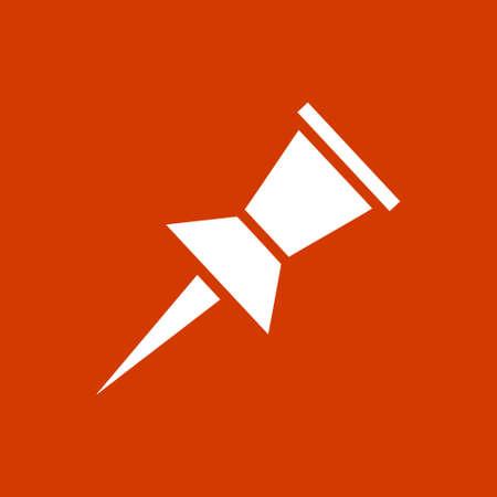 push pin icon: push pin icon Illustration