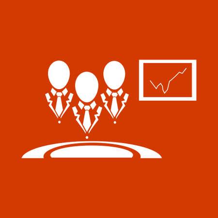 telemarketer: business center icon