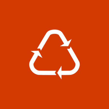 recycling: Recycling icon Illustration