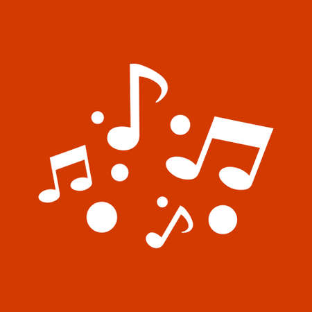 clave de fa: nota de la música icono