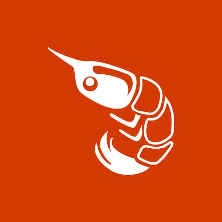 prawn: Shrimp icon