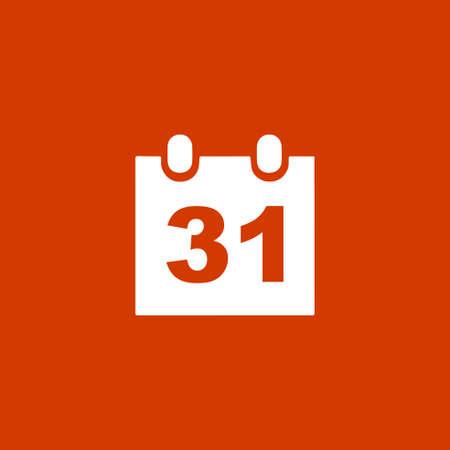 31: 31 day Calendar icon.