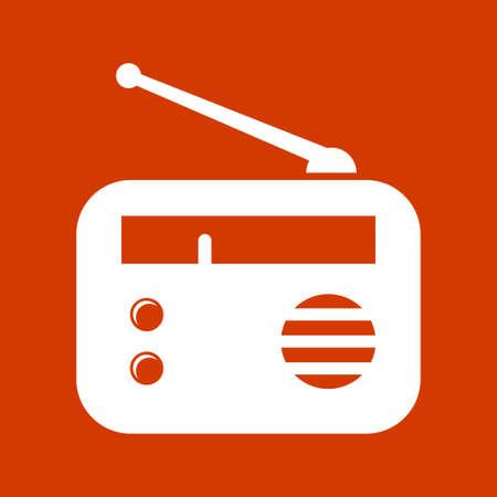 old radio: old radio    icons Illustration
