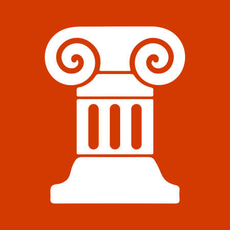 roman column: roman column icon