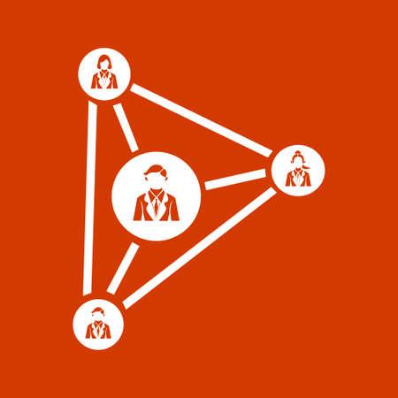 nodes: nodes connection icon