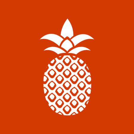 pineapple icon Иллюстрация