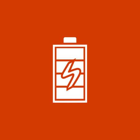 Batterie en charge Banque d'images - 53376406