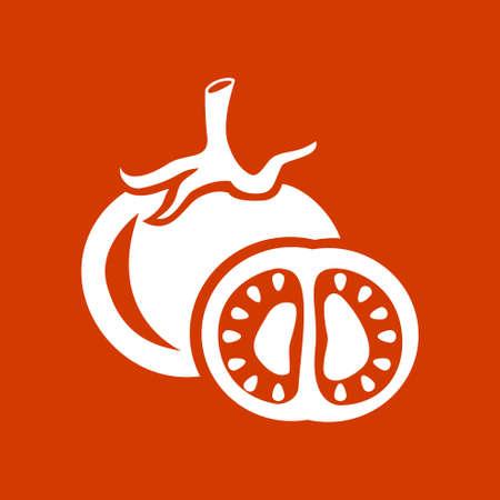 tomato  icon Illustration
