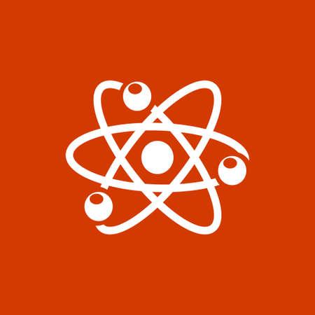 atom icon Ilustração