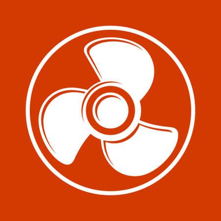 fan  icons Иллюстрация