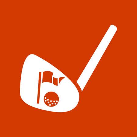 Icône de golf Banque d'images - 53376451