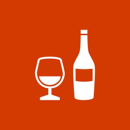 Icône de l'alcool Banque d'images - 53376454