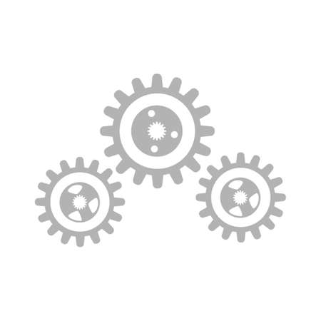 settings gears icon - cogs icon Ilustração