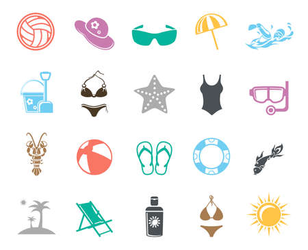 beach Icon illustration