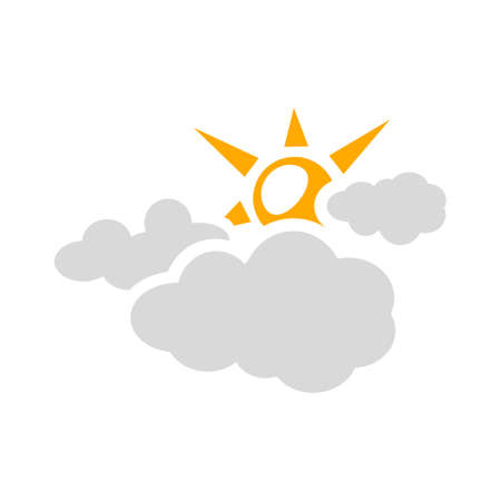 Cloudy Day Icon illustration