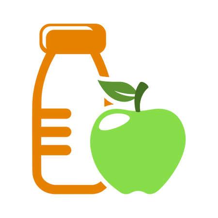 healthy food sign icon