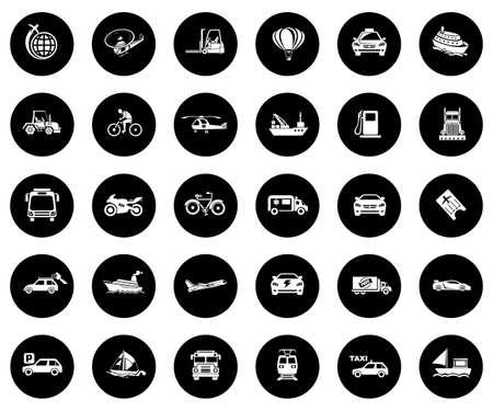 Transport Icons illustration