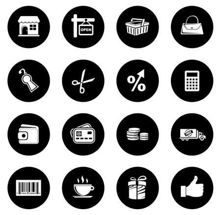 Shopping Icon illustration