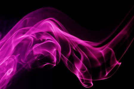 computergraphics: Abstract digital shape background. Purple smoke background Stock Photo