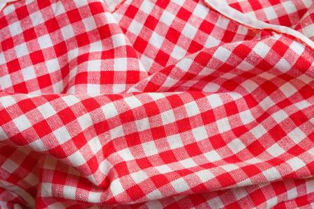 picnic blanket: Pa�o de fondo de color rojo de picnic. Textura detalle de cerca