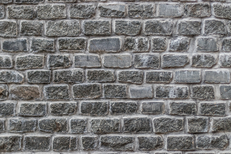 Brick wall texture grey bricks