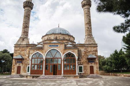 Turkish Mosque of the Martyrs Shehidler in Baku. Azerbaijan