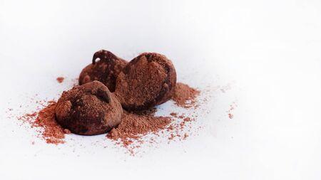 Truffles cacao 4 - with fine cacao powder