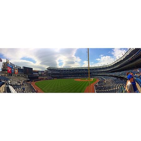 yankee: Yankee Stadium in New York August 21st, 2014