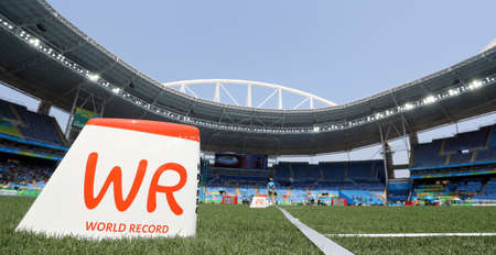 world record: World record mark at the Editorial