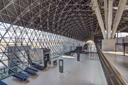 Interior view on the new Terminal of Franjo Tudjman airport in Zagreb, Croatia, 16 March 2017.