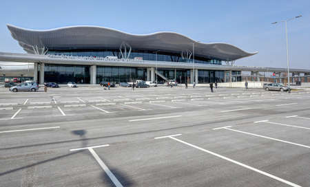 External view on the new Terminal of Franjo Tudjman airport in Zagreb, Croatia, 16 March 2017.