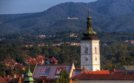 Church St Marko in Zagreb Croatia