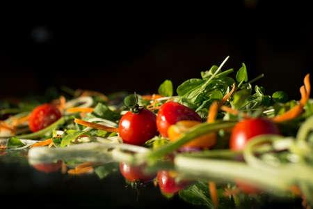 fruits in a basket: salad