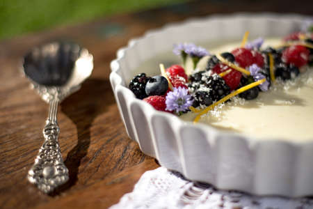 mousse: berries Mousse