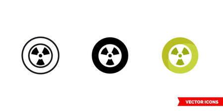 Dubstep music genre icon of 3 types. Isolated vector sign symbol.
