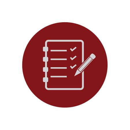 To do list, check list clipboard vector icon
