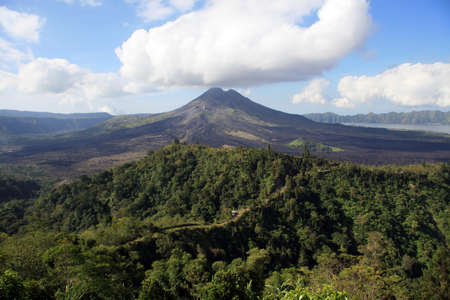 Batur Volcano at Kintamani, Bali, Indonesia. photo