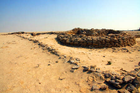 dilapidated: A dilapidated fort at Zekreet, Qatar.