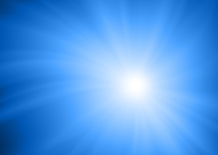 abstract blue glowing light background Stock Photo - 13193959
